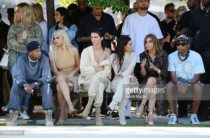 attends the Kanye West Yeezy Season 4 fashion show on September 7, 2016 in New York City.