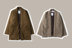 台灣販售消息 / 來件精緻至極的 Kimono 吧!visvim 聯乘日式上衫現正販售中!