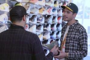 跟著饒舌歌手 G-Eazy 以及 Complex 總監逛鞋買鞋聊鞋!