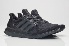 黑鞋的無限誘惑!adidas 全新 Ultra Boost 3.0「Triple Black」配色!