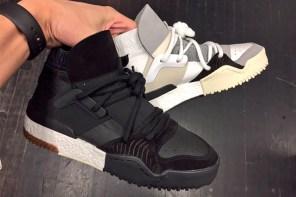 濃濃復古味!Alexander Wang x adidas Originals BBall 鞋款即將發售!