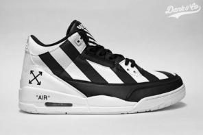 OFF-WHITE 若真聯手 Jordan Brand,這雙聯名 Air Jordan 3 合大家的口味嗎?