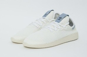 將於 7 月發售!Pharrell Williams 為了 Tennis HU 添 3 新色!