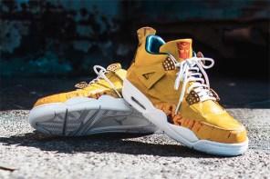 知名球鞋客製單位 The Shoe Surgeon 為了主角打造 Air Jordan 4「大黃蜂」配色!