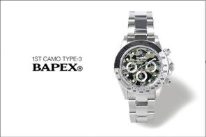 潮人必購配件,A BATHING APE 發佈全新「猿人勞力士」腕錶