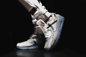 OFF-WHITE x Nike 大聯名計畫開賣日接近,接著曝光全貌的是這雙 Air Max 90…