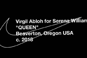 Off-White 進攻網壇?Virgil Abloh 與 Serena Williams 即將帶來「Queen」女王紀念系列