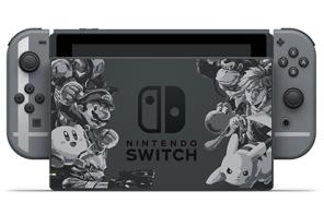 任天堂將推出「任天堂明星大亂鬥」特別紀念版 Switch 主機!