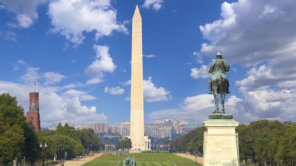 Washington Monument  and National Mall, Washington DC