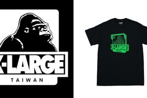日本元老級街牌 XLARGE® 即將發布「台灣」地區限定 Tee!