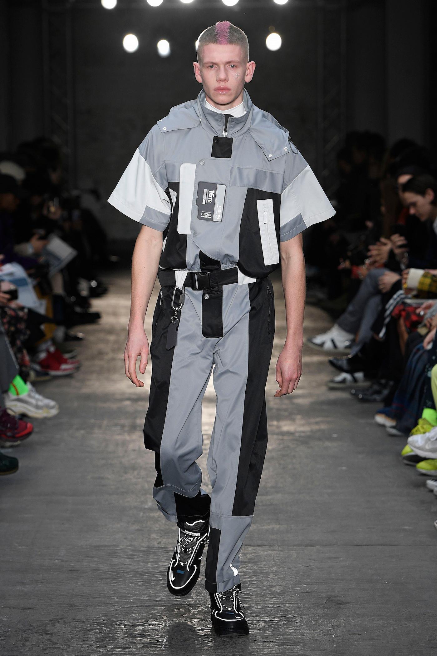 C2H4 London Menswear Fashion Week Fall Winter 2019 London Jan 2019