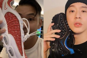 陳建州、周湯豪雙雙入手最新 Supreme x Nike 聯名鞋款
