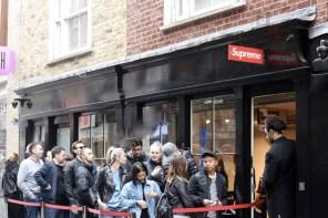 在 Supreme 倫敦店舖門口,驚覺街頭文化已死