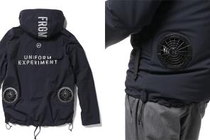 根本黑科技!藤原浩 X Uniform Experiment 聯乘系列發售,外套上竟然還能加裝風扇?!