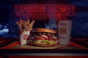 Burger King X Stranger Things 推出「Upside Down Whopper」套餐