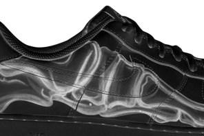 Nike Air Force 1 「黑色骷髏」萬聖節款