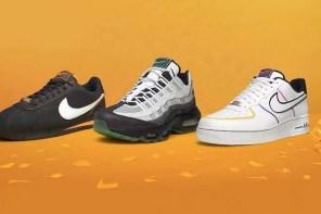 今年 Nike 2019 萬聖節系列鞋款都有暗藏骷顱頭?
