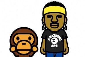 猿人持續收編饒舌歌手!Pusha-T x BAPE 聯名企劃正式公開