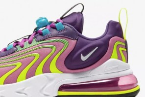 Nike AIR MAX 270 REACT ENGINEERED 持續注入摩登感