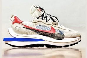 這視覺效果我跪!Sacai x Nike Vaporwaffle 新配色震撼曝光!