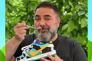 一鞋難搶的「冰淇淋 Nike SB」 ,這位「球鞋界OG 」竟然真的拿來裝冰淇淋!