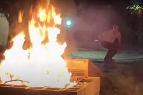 跳上撞球桌、飛越火坑!有看過這樣玩滑板的嗎?滑板競賽「毀房子」冠軍片段出爐!