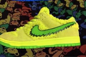 彩色小熊 X Nike SB Dunk Low 預計10月上市,5 個顏色一次滿足你!