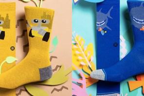 夏天短褲最潮配件!選這款「Disney Pixar x Stance」準沒錯!
