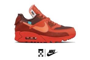 聽說你今年還沒搶到神鞋?Off-White X Nike Air Max 90 或許可以幫你達成夢想!