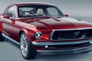 新秀老靈魂拉風!AVIAR 以 TESLA MODEL S 重製 1967 年經典車款 FORD MUSTANG!