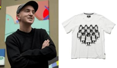 左:KAWS (via Google)、右:Banksy 聯名服飾 (via glamb)