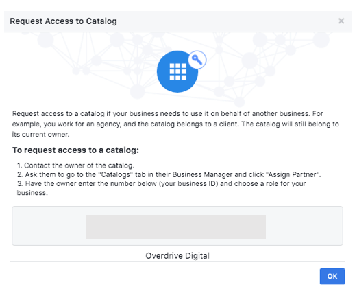 Connecting Facebook Catalogues in Business Manager