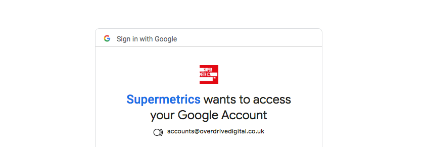 Supermetrics Google Ads