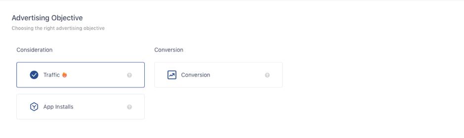 TikTok Ads Objectives