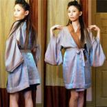 Self-drafted Reversible Kimono Robe