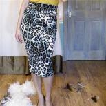 BS 2012-05-113 Draped Leopard Skirt