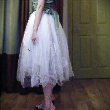 Self-drafted Petticoat Skirt