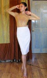 Pencil Skirt Block v1 muslin