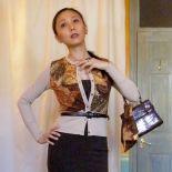 Self-drafted Dolce & Gabbana Wannabe Python Cardi
