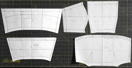pattern - bandeau bodice