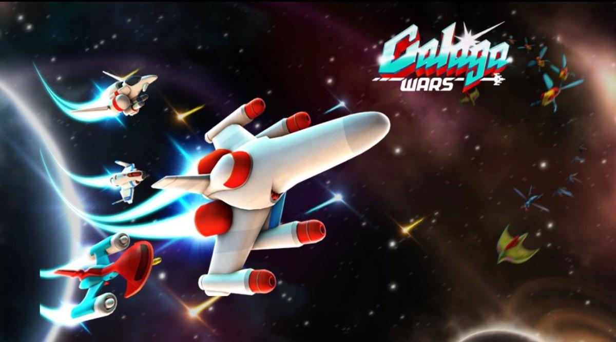 Galaga Wars – สงครามแมลงอวกาศในตำนาน
