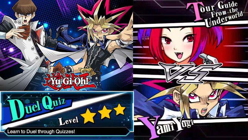 Yu-Gi-Oh! Duel Links : สอนเล่นยูกิ ด้วย Duel Quiz Level 3 Star