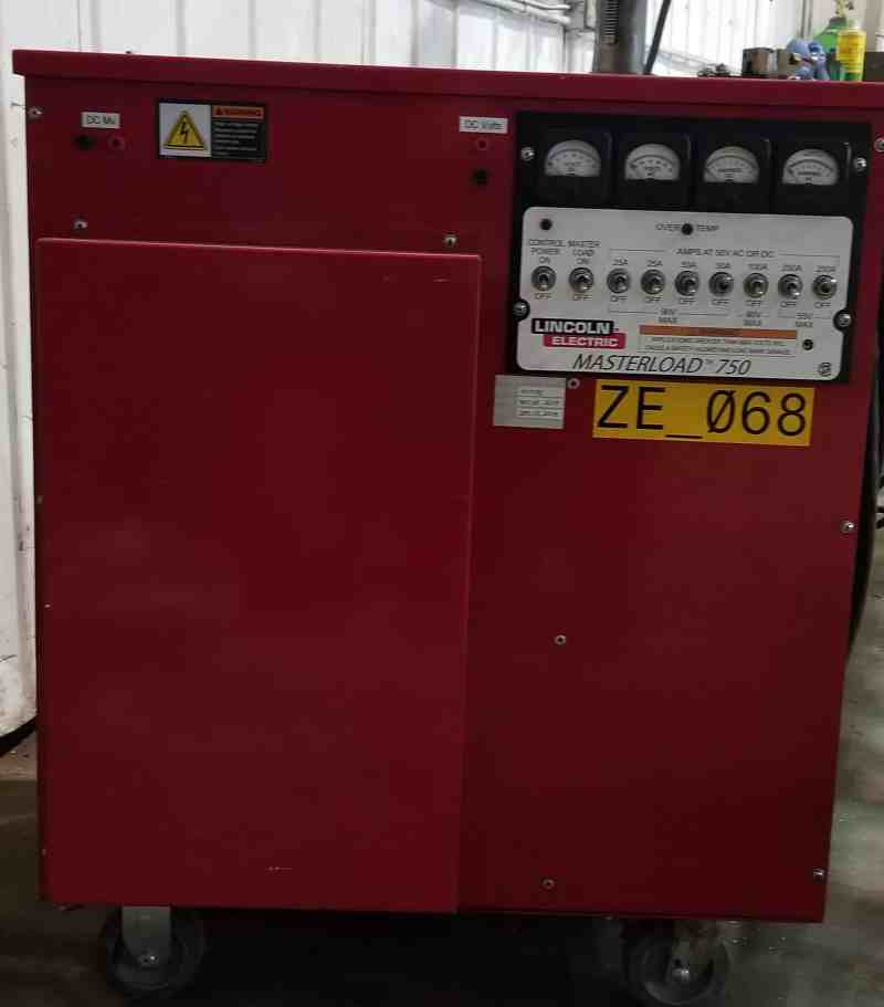 Welder Load bank
