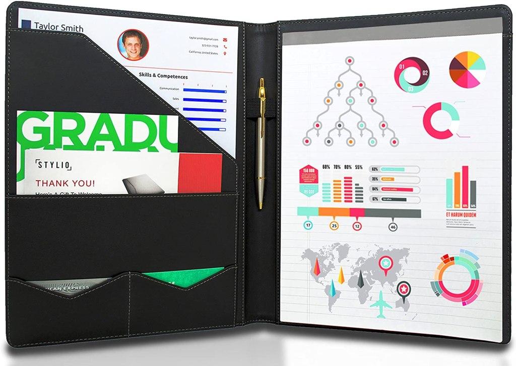 STYLIO Padfolio/Resume Portfolio Folder