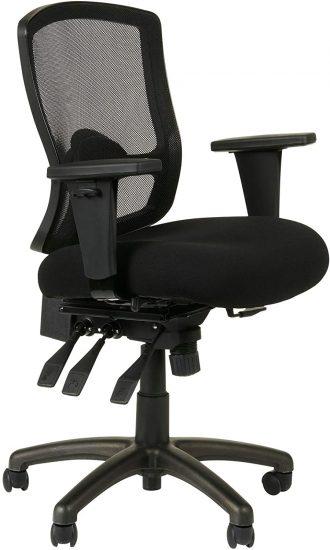 Alera Etros Series Petite Mid-Back Multifunction Mesh Chair