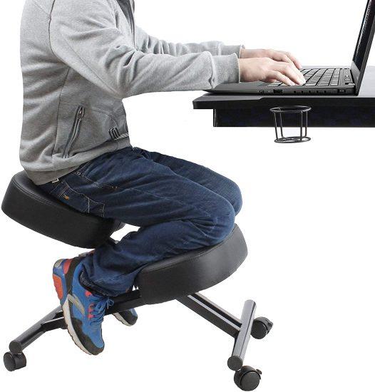 Defy Desk Ergonomic Home Office Kneeling Chair