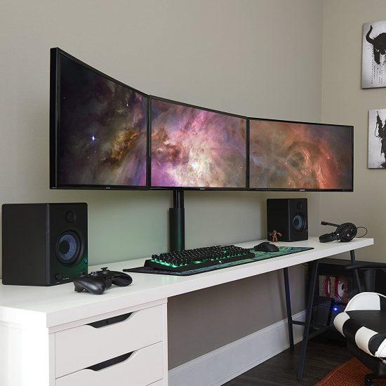 ECHOGEAR Triple Monitor Desk Mount