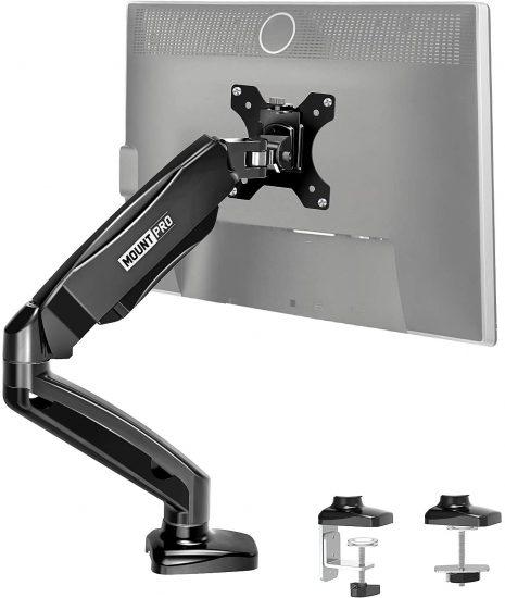 MOUNT PRO Single Monitor Desk Mount