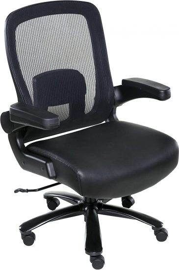 OneSpace Taft Mesh Back Oversized Executive Chair