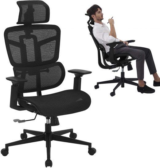 SAMOFU Office Chair - Ergonomic High Back Desk Chair